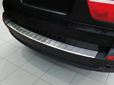 BMW X5 E70 2007 - 2013 Stainless Steel Rear Bumper Protector