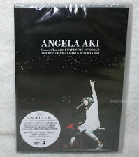 Angela Aki Concert Tour 2014 TAPESTRY OF SONGS THE BEST in BUDOKAN Taiwan 2-DVD