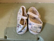 Vintage American Felt Company Trimfoot Baby Deer Infant Sandals