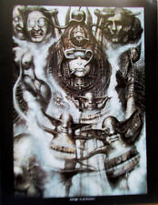 H R Giger Poster Illuminatus I Woman Machine 14x11 Offset Lithograph Unsigned