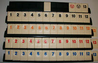 RUMMIKUB spare number tile Motif back standard size  choose colour/no.