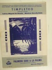 combo band parts TIMPLETEO / PALMERO SUBE A LA PALMA