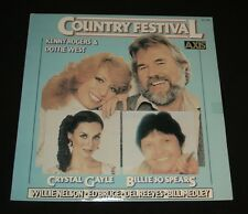 COUNTRY FESTIVAL LP  KENNY ROGERS CRYSTAL GAYLE DOTTIE WEST DAVE DUDLEY