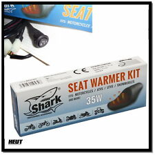 Shark Motorrad Roller Carbon Sitzheizung - 2 stufig - 12Volt 35 Watt NEU