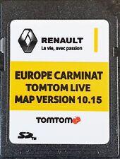Carte SD GPS Europe 2019 - 10.15 - Renault TomTom Live