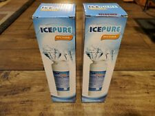 Icepure Rfc1500A (lot of 2) Compatible with Ge Kenmore Refrigerator Water Filter