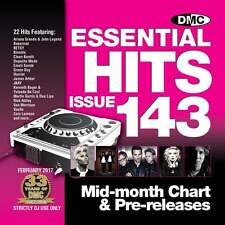 DMC Essential Hits 143 Chart Music DJ CD - Latest Releases of Radio Edit Tracks