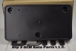 2008 2009 Pontiac G8 Front License Plate Mounting Bracket Black new OEM 92205630