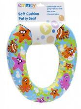 Emmay Soft Cushion Kids Baby Boy Girl Potty Training Toilet Seat Trendy Bathroom