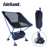 Portable Camping Folding Chair Ultralight Outdoor BBQ Stool Beach Fishing Seat