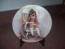 Limoge France Plate Amy And Snoopy 1977