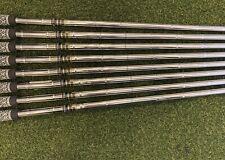 True Temper Dynamic Gold s300 Stiff 8pc 3-PW Iron Shaft Set