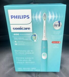 Philips Sonicare Protective Clean 4100 Rechargeable Electric Toothbrush Aqua NEW