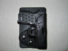 Diamondback DB9 LEFT HAND leather wallet or pocket gun holster for db9