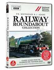 Railway Roundabout Collection Includes 32 Page book All 9 Programs 4 DVD Set BBC