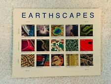 Earthscapes Pane of 15 Different US Forever Stamps 2011 Souvenir Sheet