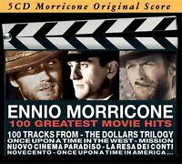 ENNIO OST/MORRICONE - GREATEST MOVIE HITS 5 CD NEW+ MORRICONE,ENNIO