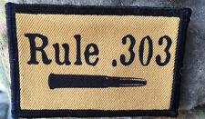 Rule 303 Morale Patch Breaker Morant Tactical ARMY Hook Military flag hook badge