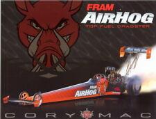 2005 Cory McClenathan Fram Airhog Top Fuel NHRA postcard