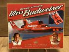 """Vintage 2002 Specifications MISS BUDWEISER Hydroplane Promo Card 8"""" x 10"""""""