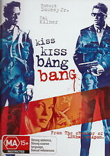 Kiss Kiss Bang Bang - Action / Thriller - NEW DVD