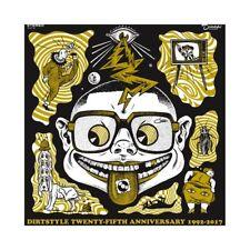 DJ Qbert Dirtstyle 25th Anniversary Battle Record Thud Rumble White Vinyl New!