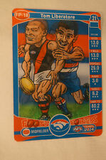 WESTERN BULLDOGS - Footy Pointers Card - Football Card - Tom Liberatore