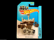 2014 Hot Wheels Mars Rover Curiosity 71/250 black tires variation