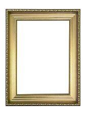 Wide Ornate Shabby Chic Picture frame photo frame Ornate Frames Gold Black White