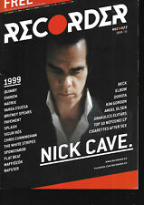 Hungarian Magazine Recorder - 077 - Nick Cave and the Bad Seeds cover