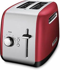 KitchenAid RKMT2115ER Toaster 2 Slots, Empire Red CERTIFIED REFUEBISHED