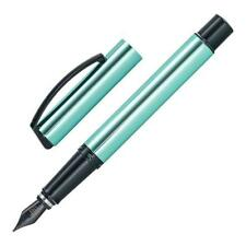 Online Vision Magic Aluminum Fountain Pen, Turquoise, Extra Fine Nib