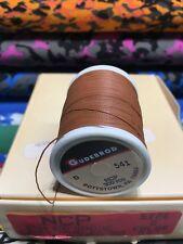 Gudebrod Fishing Rod Winding thread Ncp Size D. Medium Brown 541. 1 Spoo.