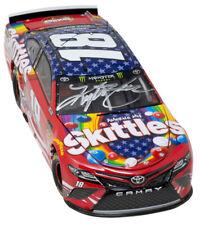 Kyle Busch Signed Replica Nascar Skittles Diecast Car BAS