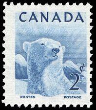 Canada  # 322    WILDLIFE - POLAR BEAR       VF-NH  1953  Pristine Gum