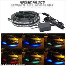 Mutli Color LED Strip Under underglow Underbody System Car Tube Neon Lights Kit