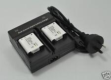 2 Li-92B Li-90B Battery+Dual charger for Olympus TG-1 TG1 TG-2 TG-3 TG3 XZ-2 XZ2