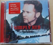 Love And The Russian Winter - Simply Red  CD