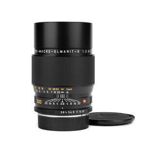 Leica 100mm f2.8 APO-MACRO-ELMARIT-R E60 Late ROM Lens #383... *READ*