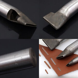 2mm Leather Craft Punch Hole Hollow Tools Steel Puncher Rectangle Square Hole