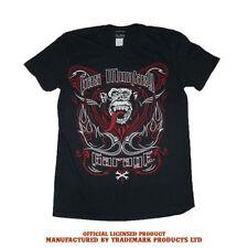 Camisetas de hombre negro Gildan