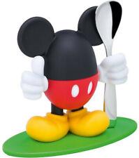 Disney Mickey Mouse Eierbecher mit Löffel, Kunststoff, Cromargan Edelstahl