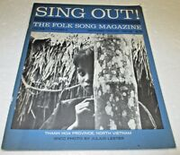 SING OUT THE FOLK SONG MAGAZINE DEC JAN 1967 1968 THANH HOA NORTH VIETNAM