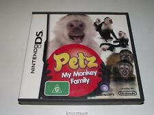 Petz My Monkey Family Nintendo DS 3DS Game Preloved *No Manual*
