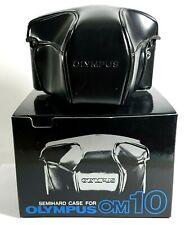 Olympus OM10 SLR Film Camera Case Black with Box UK Fast Post