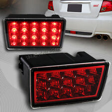 For 2011-2014 Subaru WRX STI Red/Clear Lens F1 Style LED Rear 3rd Brake Light