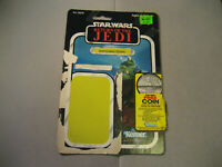 1983 Gamorrean Guard 77 Back STAR WARS Kenner Vintage Original Card Back