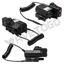 NcSTAR Offset Green Laser Designator LED NAV Lights QR Weaver Mount Remote Black