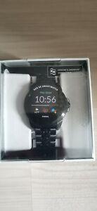 Fossil smartwatch Gen 5 schwarz Edelstahl Armband
