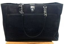 Tommy Hilfiger New With Tag Women's Black Double Handle Tote Handbag